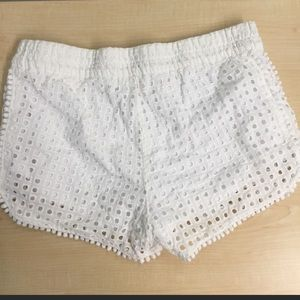 Lilly Pulitzer for Target Shorts - Lilly Pulitzer for Target Eyelet Shorts Size S